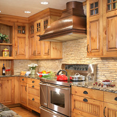 Rustic Kitchen by Ulrich Inc