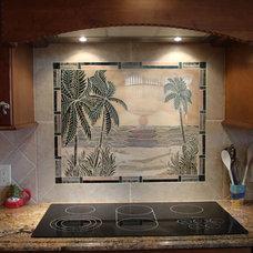 Contemporary Kitchen by American Tile and Stone/Backsplashtogo.com
