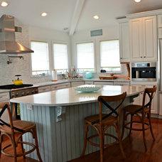 Beach Style Kitchen by Serenity Design