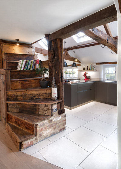 Transitional Kitchen by Contour