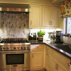 Traditional Kitchen by The Art of Room Design