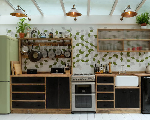 Single-Wall Kitchen Design Ideas & Remodel Pictures | Houzz