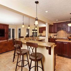Traditional Kitchen by Tamer Construction, Inc.