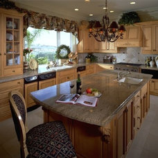 Traditional Kitchen by Janice McCabe Interior Design Build