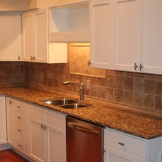 Traditional Kitchen by Rick Kelley Builders