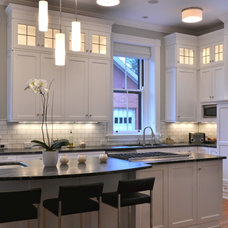Eclectic Kitchen by Auer Kitchens