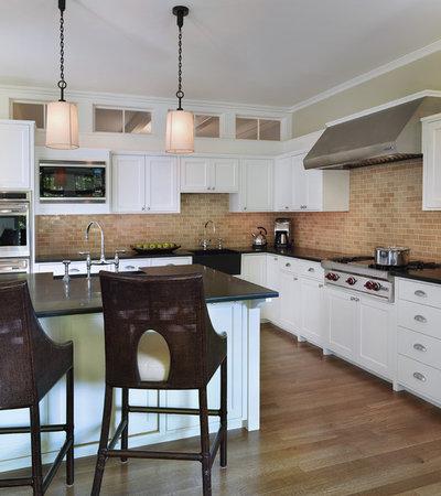 Traditional Kitchen by Rachel Reider Interiors