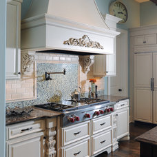 Traditional Kitchen Kitchen Range