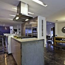 Dramatic Kitchen Floors