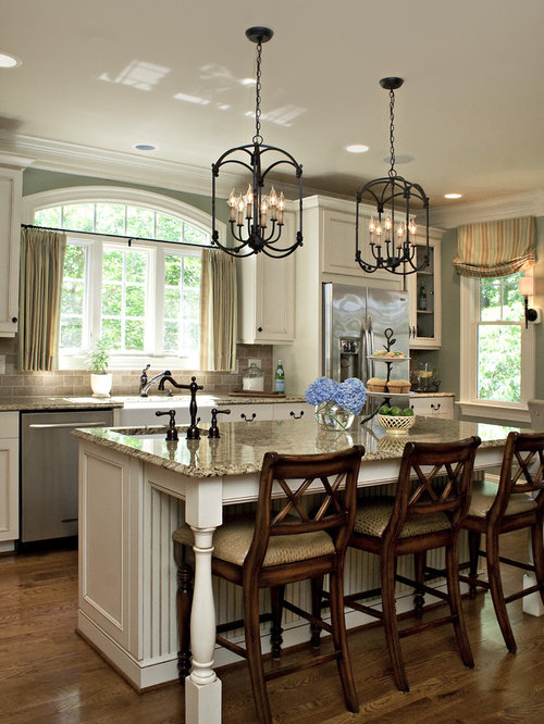 Traditional Kitchen Idea In Raleigh With Stainless Steel Appliances