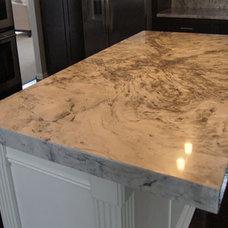 Modern Kitchen Countertops by Precision Stone Design