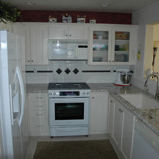 Traditional Kitchen by Aegean Designing Whims