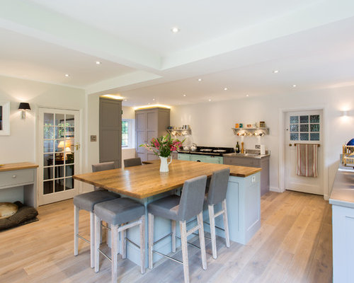 Farmhouse Kitchen Design Ideas saveemail hill farm furniture ltd Farmhouse U Shaped Kitchen Design Ideas Remodel Pictures Houzz