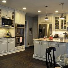 Kitchen - Slate Floor, Granite Counters