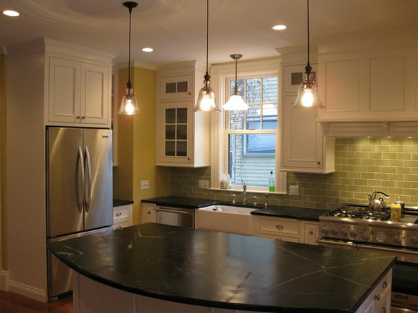 Traditional Kitchen by Alta Builders LLC