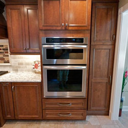 Award winning- Galley Kitchen Remodel in Southern New Jersey - TVPG Labs