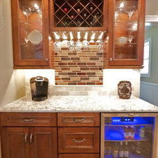 Mediterranean Kitchen by Amiano & Son Construction, LLC