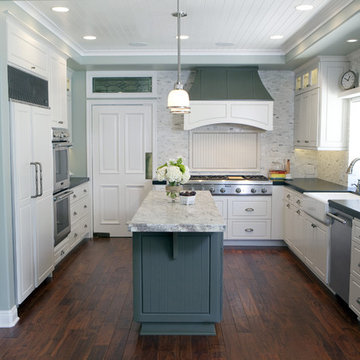 Kitchen remodel and renovation for a private client, Newport Beach California