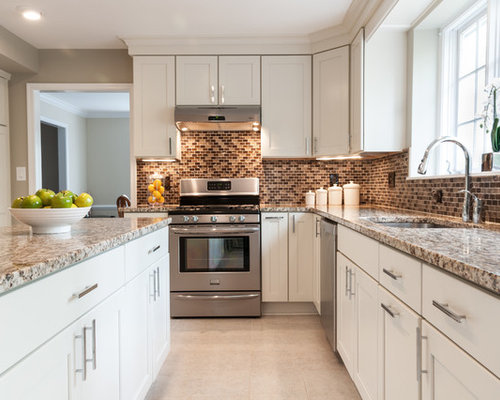 Merillat cabinets houzz for Merillat kitchen cabinets