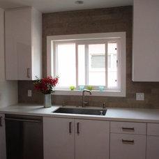 Modern Kitchen by AT Design, LLC