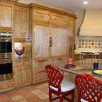 Beaded Inset Cabinetry Traditional Kitchen Kansas