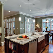 Transitional Kitchen by Construction Ahead