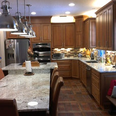 Traditional Kitchen by Woodsman Kitchens and Floors