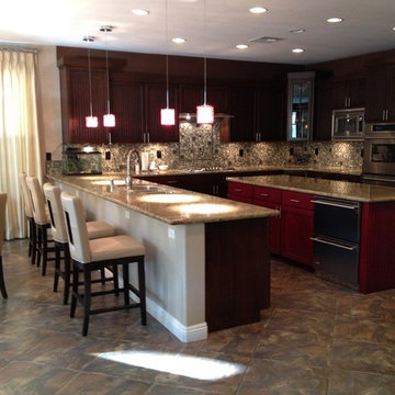 KITCHEN REMODEL by My Favorite Design, Inc.