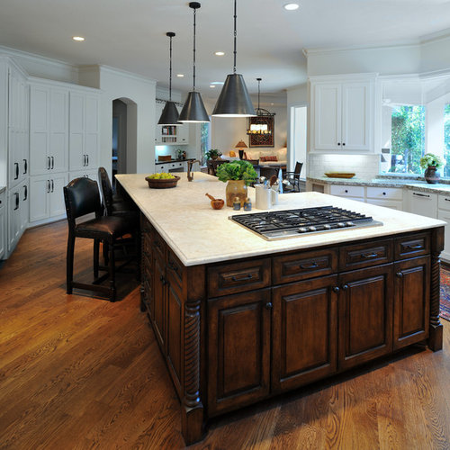 Kitchen Island With Cooktop kitchen island cooktop | houzz