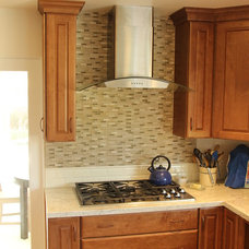 Traditional Kitchen by Castle Construction of Santa Barbara