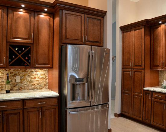 Dark Maple Cabinets Home Design Ideas