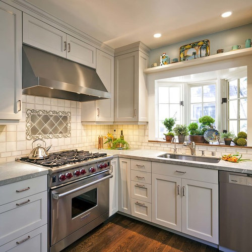 Bay Windows Kitchen Sink Houzz - Bay window kitchen