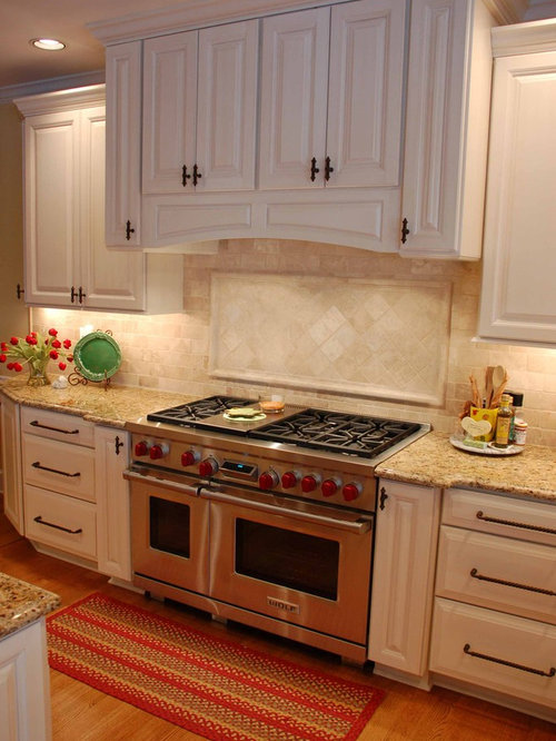 how to clean travertine backsplash