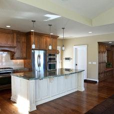 Traditional Kitchen by Denise Glenn Interior Design