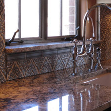 Traditional Kitchen by Julep Tile Company