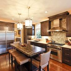 Contemporary Kitchen by Design Works Studio