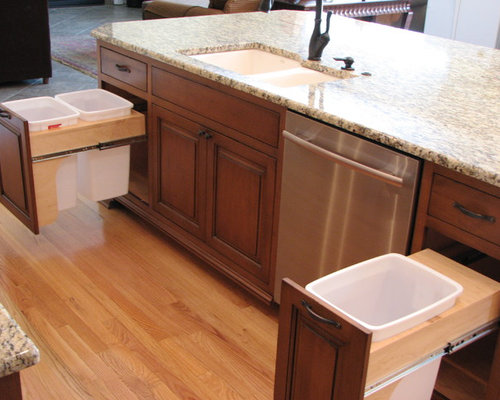 Trash Pull Out Design Ideas Amp Remodel Pictures Houzz