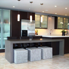 contemporary kitchen by Euro Kitchens and Bath