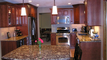 Kitchen Remodel featuring Cherry Cabinets