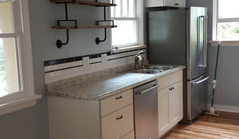 Kitchen remodel, floor refinishing and interior painting