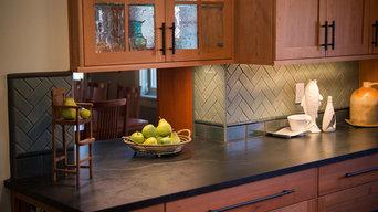 Kitchen Remodel - Flooring and Custom Backsplash