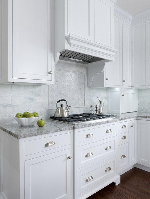 Küchen in U-Form mit Zink-Arbeitsplatte Ideen, Design & Bilder | Houzz