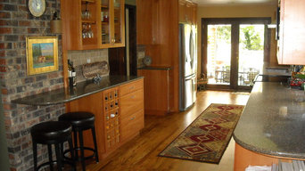 Kitchen remodel for cottage style home