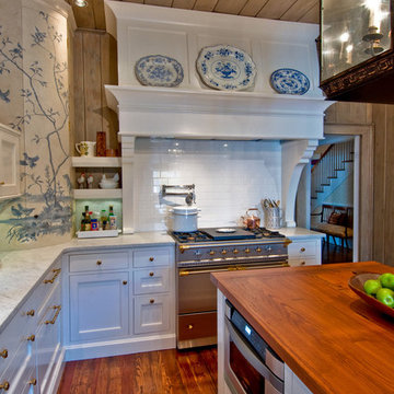 Kitchen Remodel:  French Country Meets Rustic