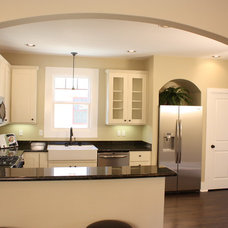Traditional Kitchen by Green Button Homes LLC
