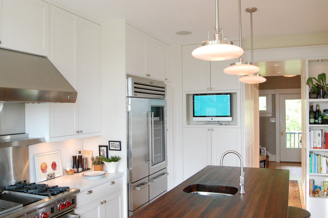 Traditional Kitchen by Group3 Architects llc