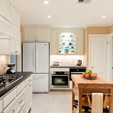 Traditional Kitchen by Sylvie Meehan Designs