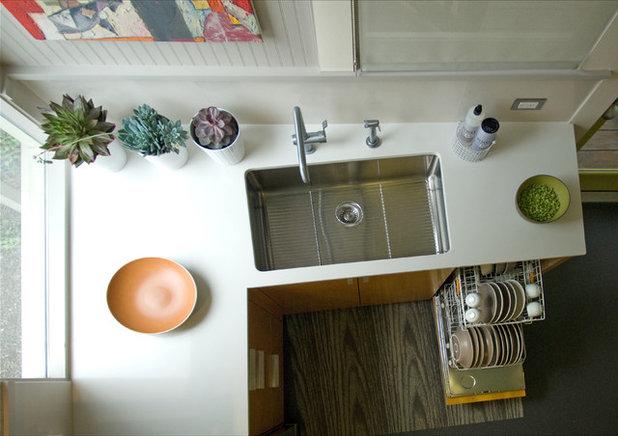 Küchenplanung im Detail: 8 Ideen rund um das Spülbecken | {Spülbecken küche rund 85}