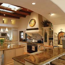 Mediterranean Kitchen Kitchen Remodel