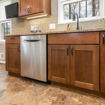 Kitchen Remodel in Canterbury Neighborhood, Annandale, Virginia